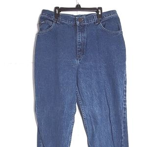 Lee High Raise Mom Jeans Size 16 long